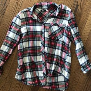 Plaid URBAN OUTFITTERS button down flannel